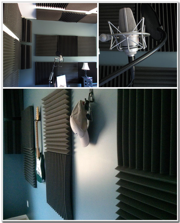 voice-over-studio-auralex-foam-on-walls
